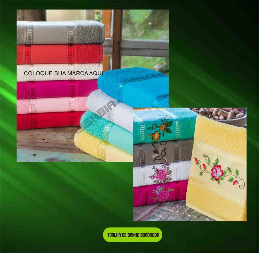 Toalhas de Rosto Personalizada Bordada  - Bolas Lassabia - Bolas de Futebol e Volei