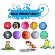 Kit 50 bolas de Vinil 40 cm Marmorizadas