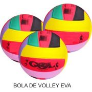 Bola de Volley EVA - Kit com 10 unidades
