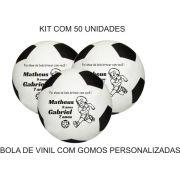 Bola de Vinil 23 cm com gomos Personalizadas