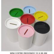 Mini Cofre Redondo  10x 06 cm