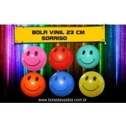 Bola de Vinil Sorriso 23 cm