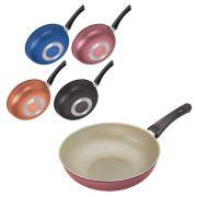 Frigideira wok super artistic colors 28 cm de Ø