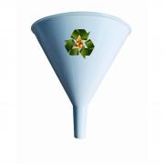 Funil de Plastico 250 ml. Personalizado - Kit com 100