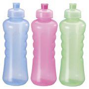 Garrafa/ Squeeze  de plastico pet floripa colors 580 ml