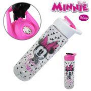 Garrafa / squeeze de plastico pet  Minnie  silk com tampa flip top colors 700 ml