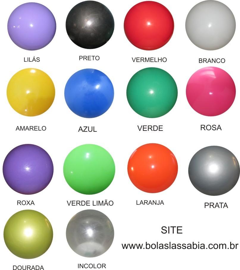 Bola de Vinil Lisa 23 cm kit com 10 - Bolas Lassabia - Bolas de Futebol ... 57f58a1367b38