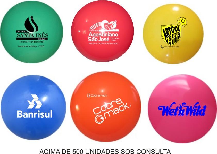 Bola de Vinil Personalizada 40 cm  - Bolas Lassabia - Bolas e Brindes Personalizados