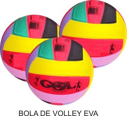 Bola de Volley EVA - Kit com 10 unidades  - Bolas Lassabia - Bolas e Brindes Personalizados