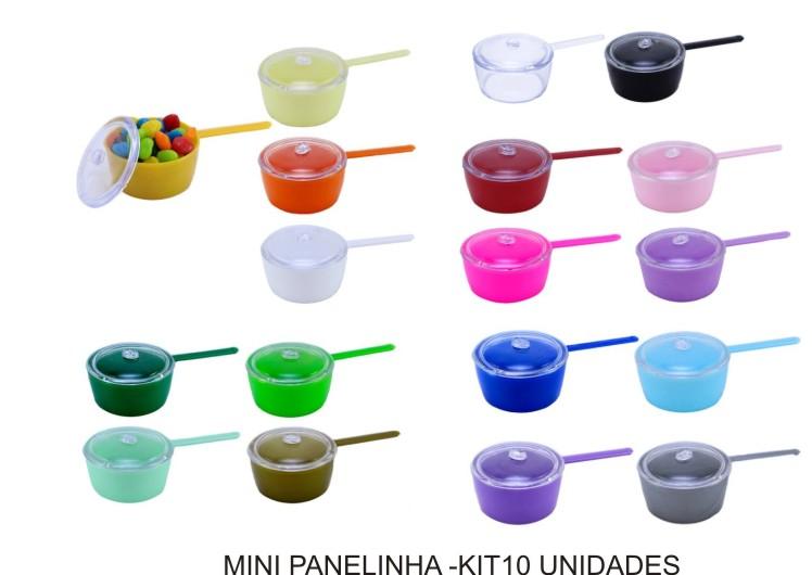 Mini Panelinha com tampa - Kit 30 Unidades  - Bolas Lassabia - Bolas de Futebol e Volei