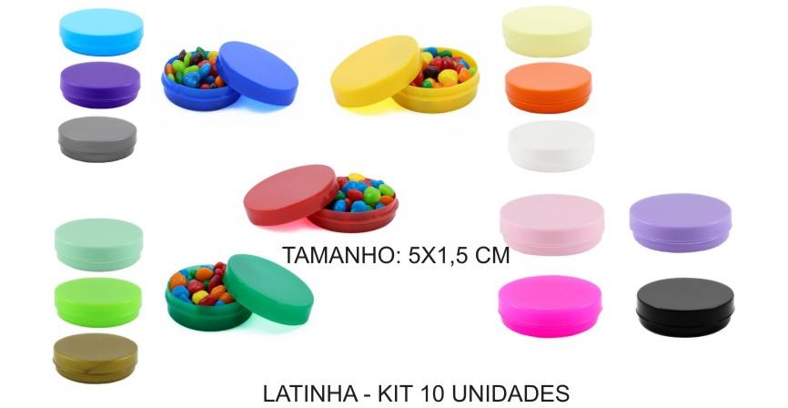 Latinha Acrilica - Kit 30 Unidades  - Bolas Lassabia - Bolas de Futebol e Volei