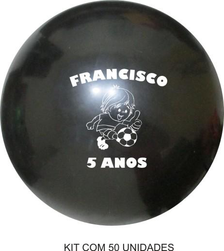 d9735d458 ... Bola de Vinil Personalizado 33 cm - Kit com 50 - Super Tri Shop - Bolas  ...