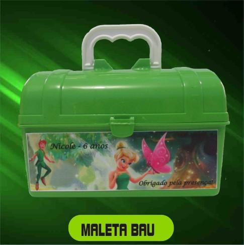 Maletinha Bau Personalizada - Kit com 10 Peças  - Bolas Lassabia - Bolas e Brindes Personalizados