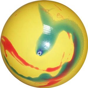 Bola de Vinil Marmorizada 40 cm - Kit com 10  - Bolas Lassabia - Bolas de Futebol e Volei