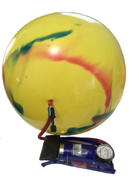 Bomba de ar de Encher Bola  - Bolas Lassabia - Bolas de Futebol e Volei