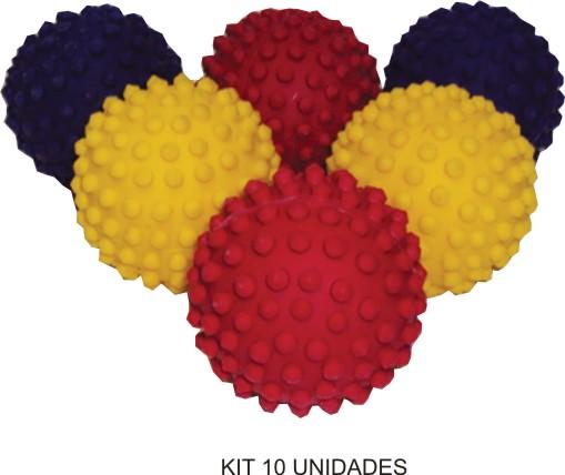 Bolinhas de Massagem - Kit com 10  - Bolas Lassabia - Bolas e Brindes Personalizados