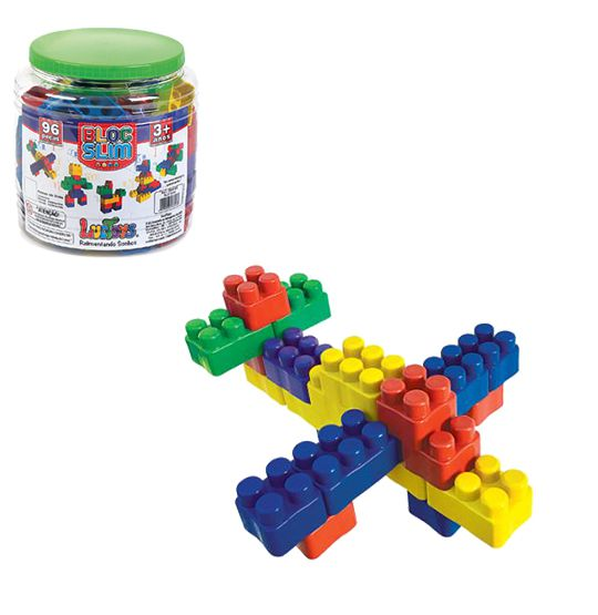 brinquedo educativo bloco de montar  - Super Tri Shop - Bolas - Utilidades - Presentes