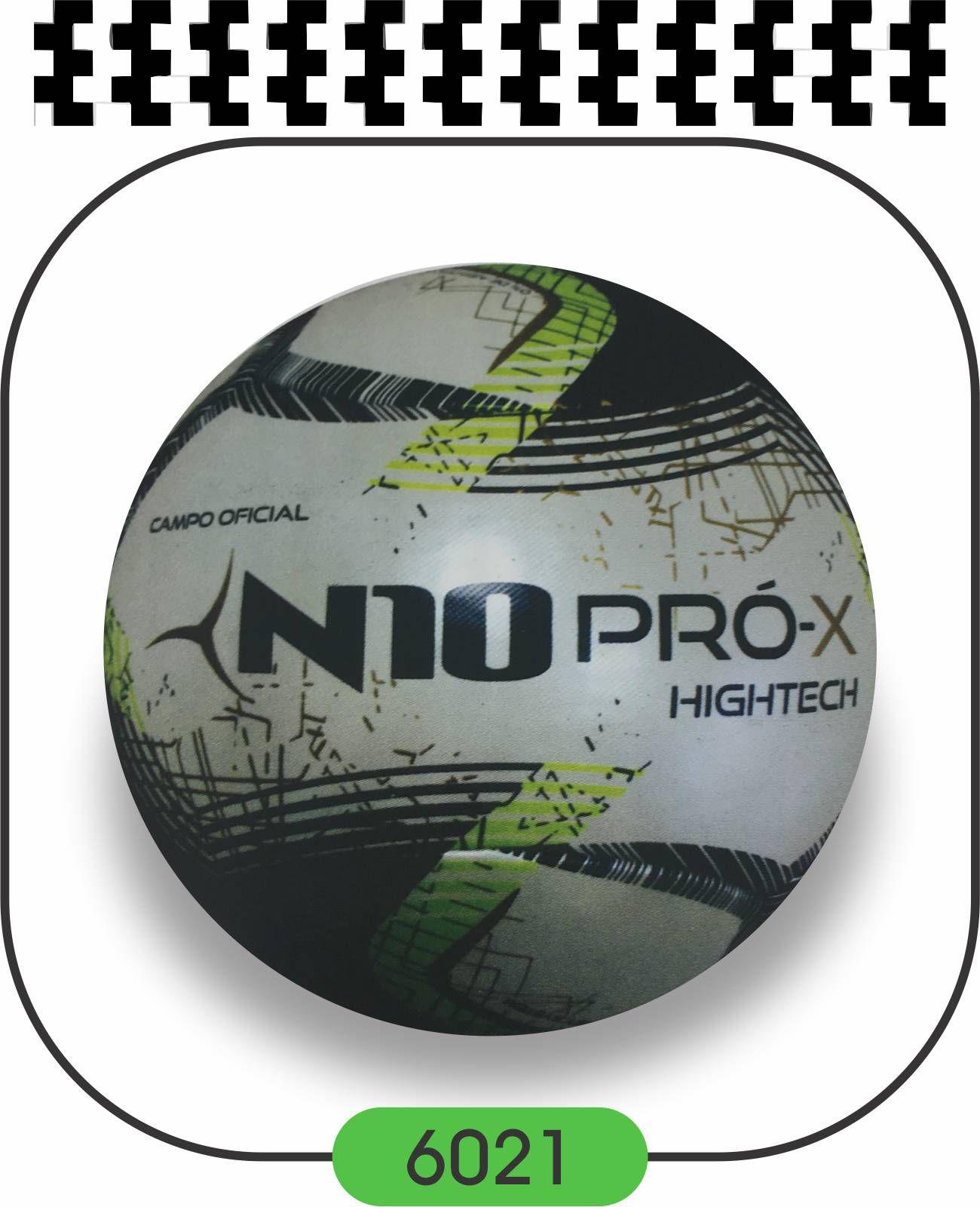 Bola de Futebol de Campo N10 PRO-X HIGHTECH - TERMOFUSY  - Bolas Lassabia - Bolas e Brindes Personalizados
