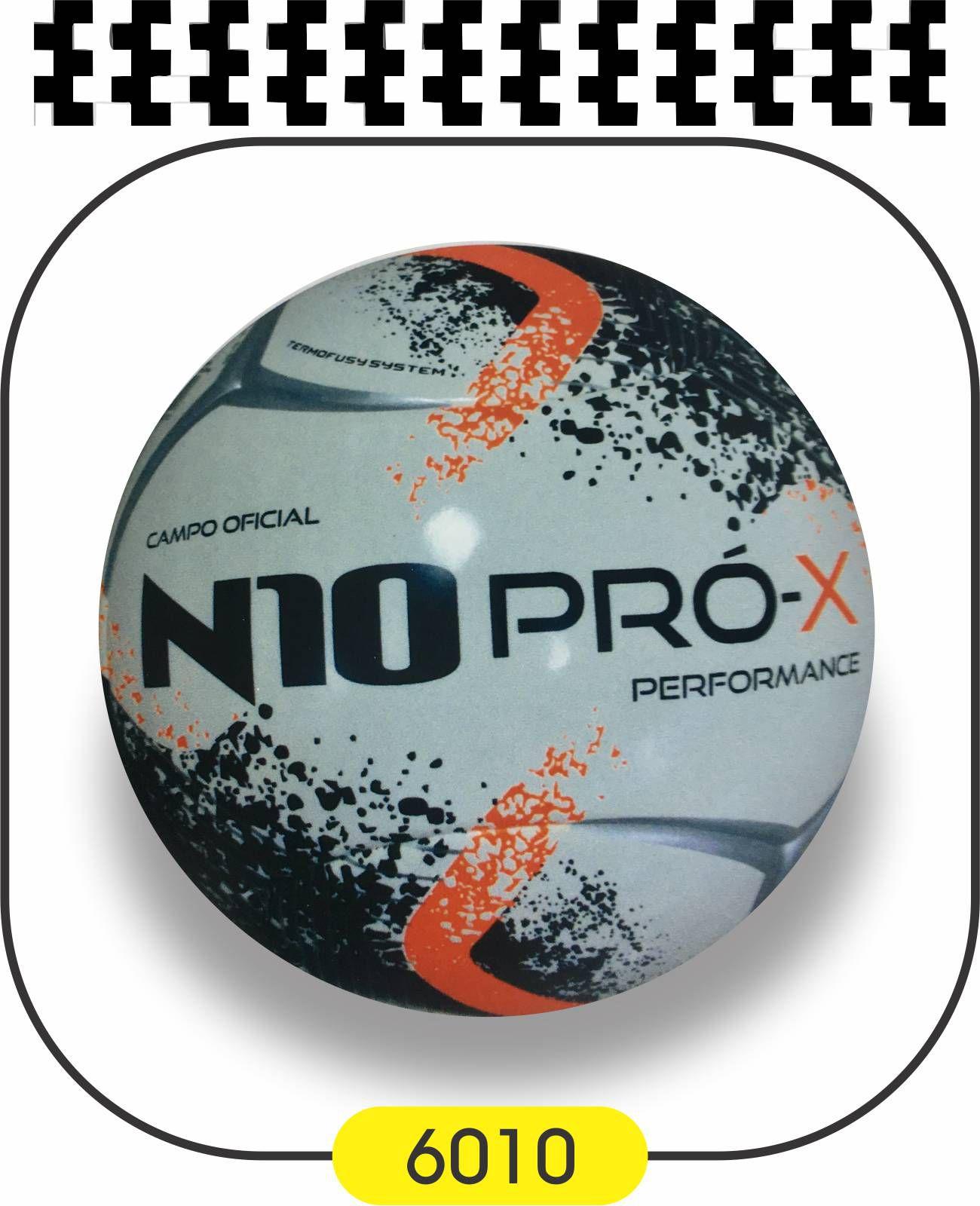 Bola de Futebol de Campo N10 PRO-X PERFORMANCE - TERMOFUSY  - Bolas Lassabia - Bolas e Brindes Personalizados