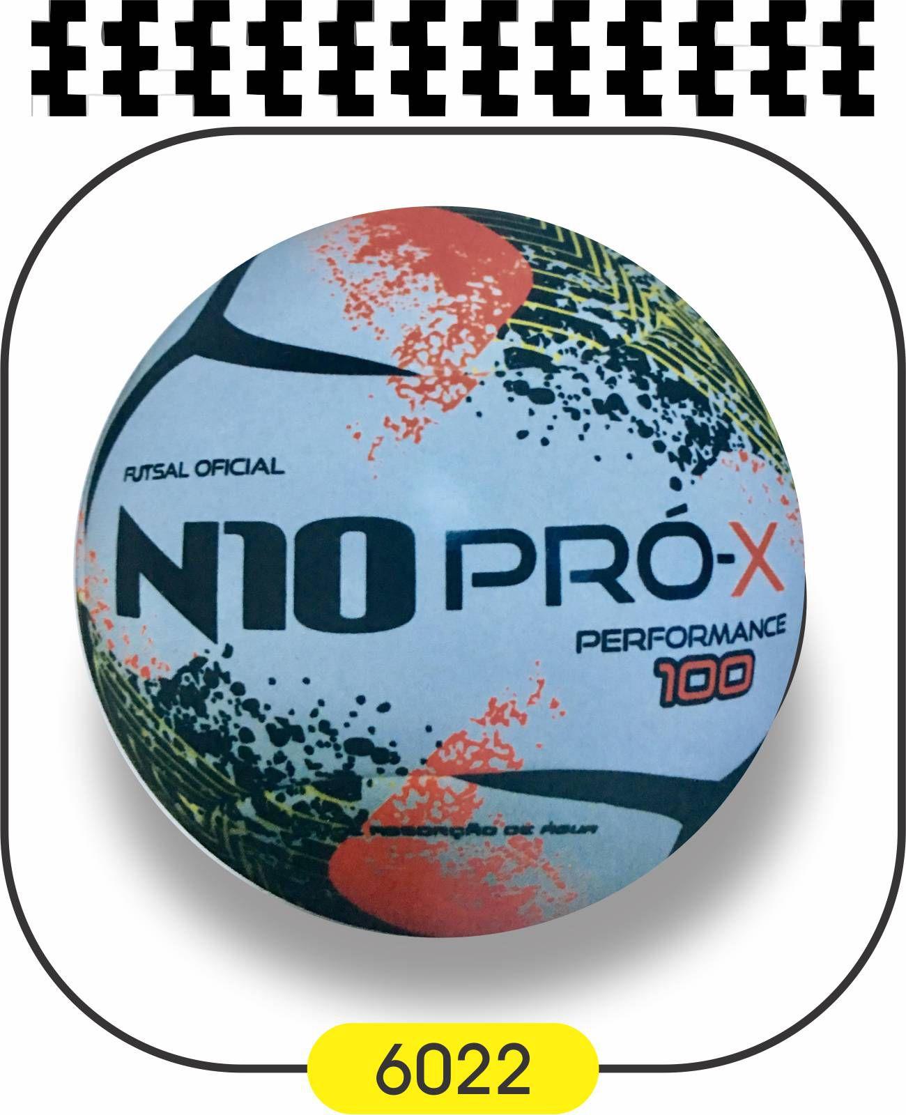 Bola de Futsal N10 PRO-X PERFORMANCE 100 - TERMOFUSY  - Bolas Lassabia - Bolas e Brindes Personalizados