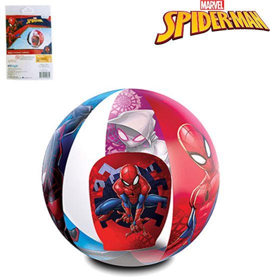 BOLA DE PRAIA 3D 40CM DE Ø HOMEM ARANHA/SPIDER MAN  - Super Tri Shop - Bolas - Utilidades - Presentes