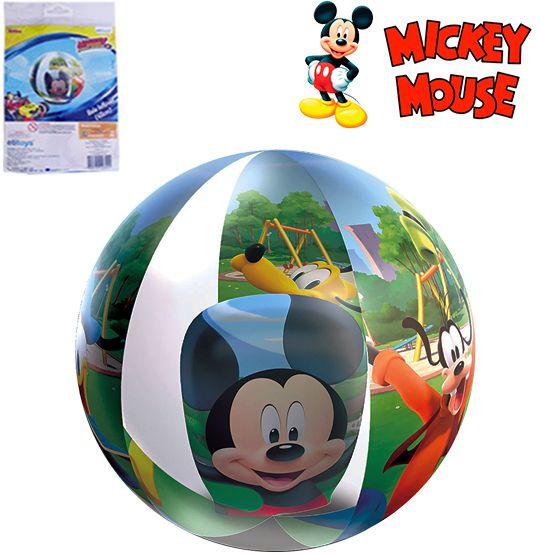 BOLA DE PRAIA 3D 40CM DE Ø MICKEY  - Super Tri Shop - Bolas - Utilidades - Presentes