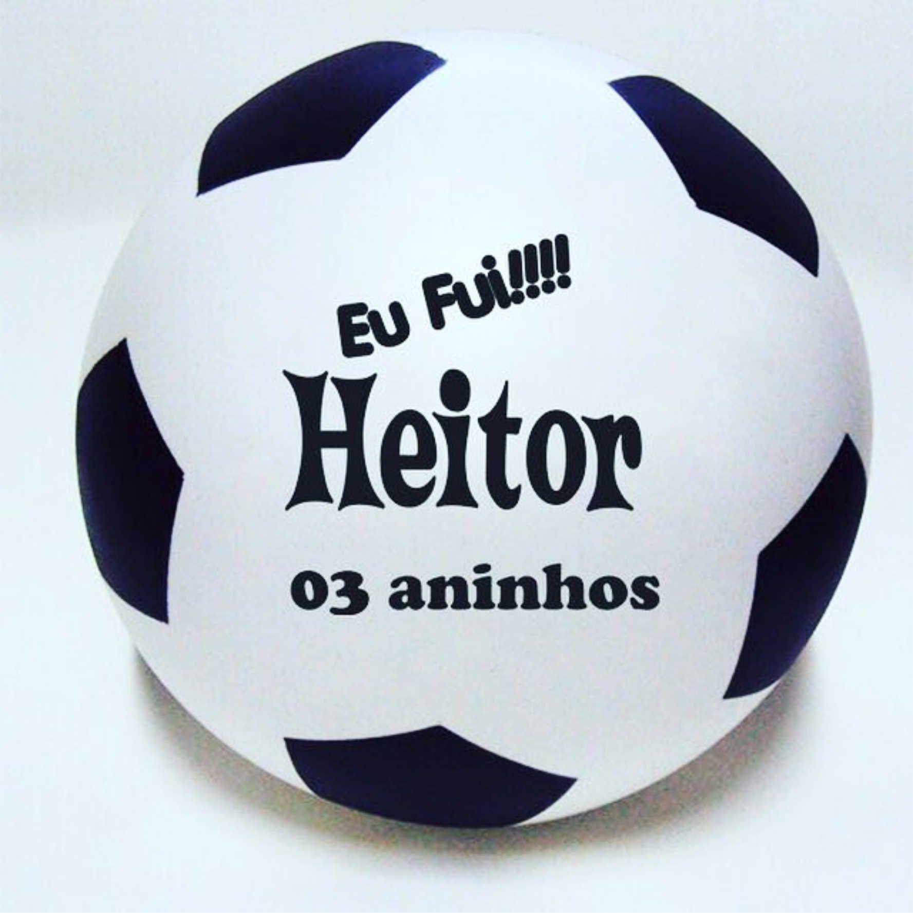 Bola de Vinil 23 cm com gomos Personalizadas  - Bolas Lassabia - Bolas e Brindes Personalizados