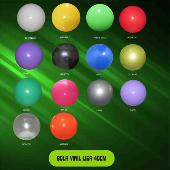 Bola de Vinil 40 cm  - Bolas Lassabia - Bolas de Futebol e Volei