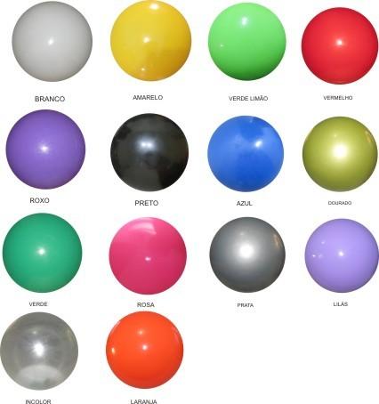 Bola de Vinil Cores Lisa 23 cm  - Super Tri Shop - Bolas - Utilidades - Presentes