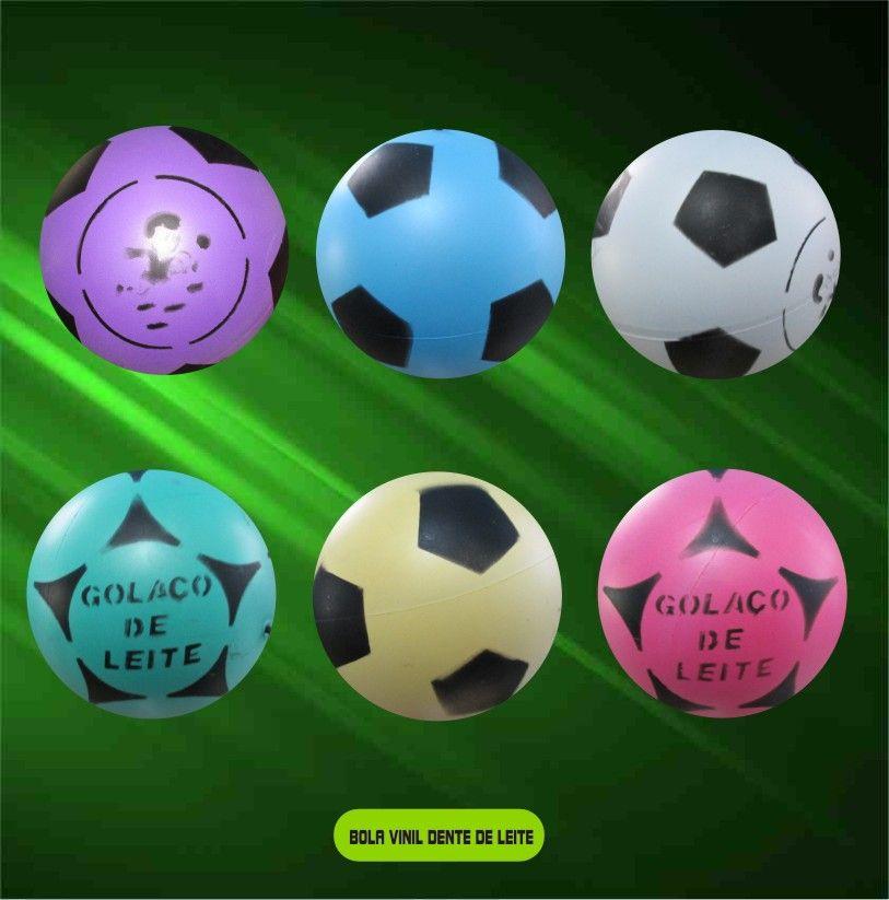 Bola de Vinil Dente de Leite kit com 100 unidades  - Bolas Lassabia - Bolas de Futebol e Volei
