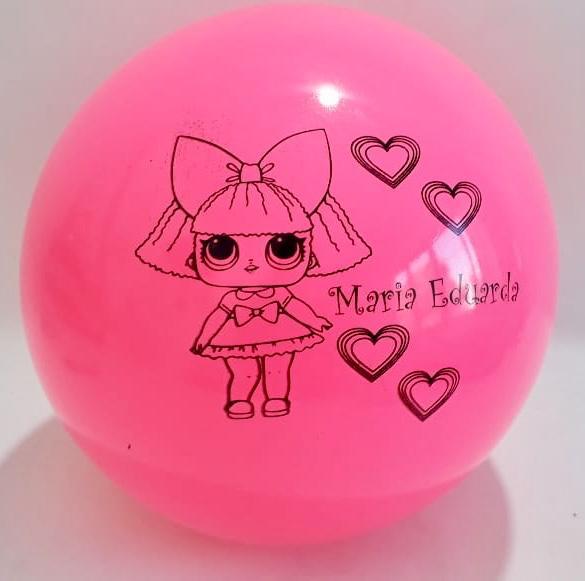 Bola de Vinil Personalizada Festa de Aniversario - kit com 30 bolas  - Bolas Lassabia - Bolas e Brindes Personalizados