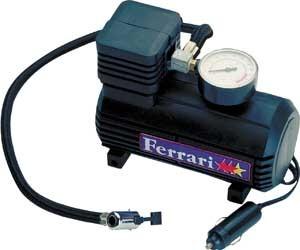 Bomba de ar de Encher Bola - Mini compressor de Ar  Turbo 12 V