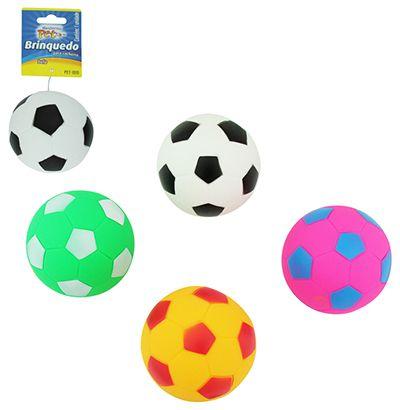 Brinquedo para Cachorro Bola com som  - Bolas Lassabia - Bolas de Futebol e Volei