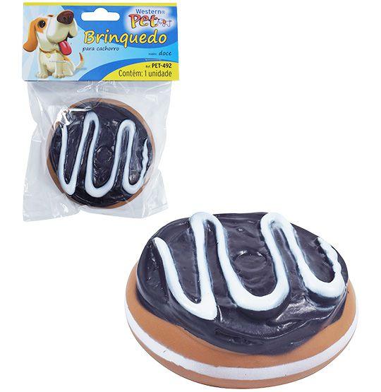Brinquedo para Cachorro Doce com som na solapa  - Bolas Lassabia - Bolas de Futebol e Volei