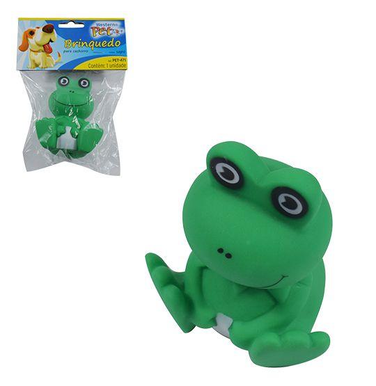 brinquedo para cachorro  sapo com som solapa  - Bolas Lassabia - Bolas de Futebol e Volei