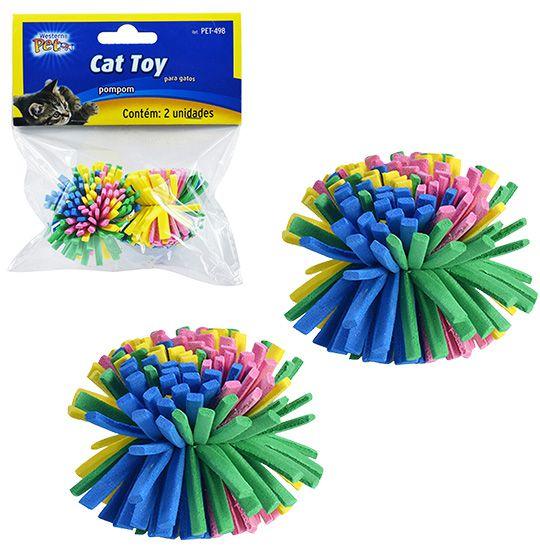 Brinquedos para Gatos Pom Pom  - Super Tri Shop - Bolas - Utilidades - Presentes