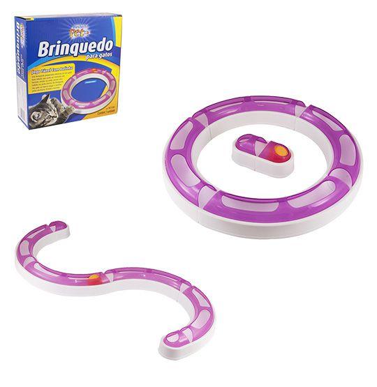 Brinquedo para Gatos Túnel com Bolinha  - Super Tri Shop - Bolas - Utilidades - Presentes