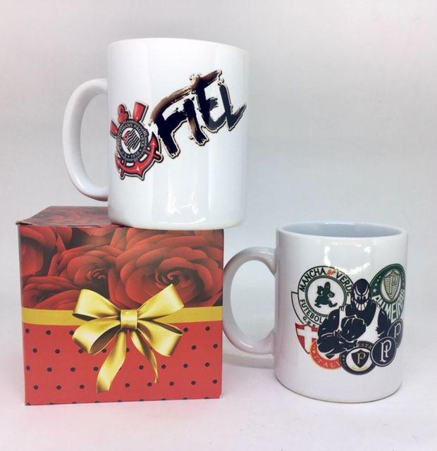 Caneca de Cerâmica Personalizada  - Bolas Lassabia - Bolas e Brindes Personalizados