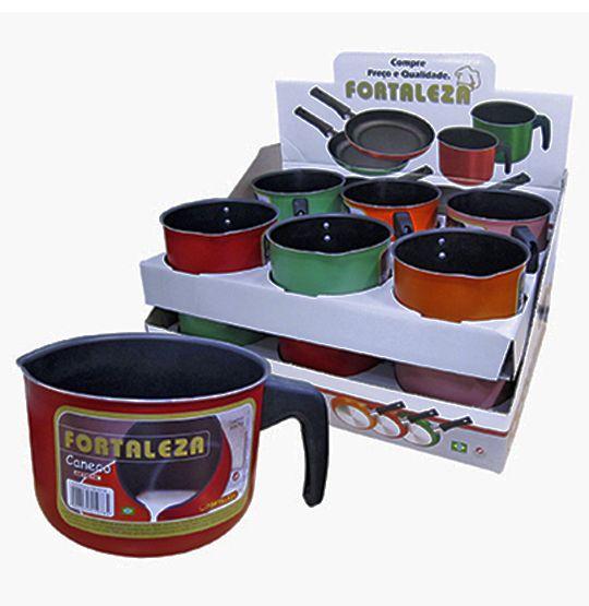 Canecão/ Leiteira colors  1,3L 10.5X14cm DE Ø  - Super Tri Shop - Bolas - Utilidades - Presentes