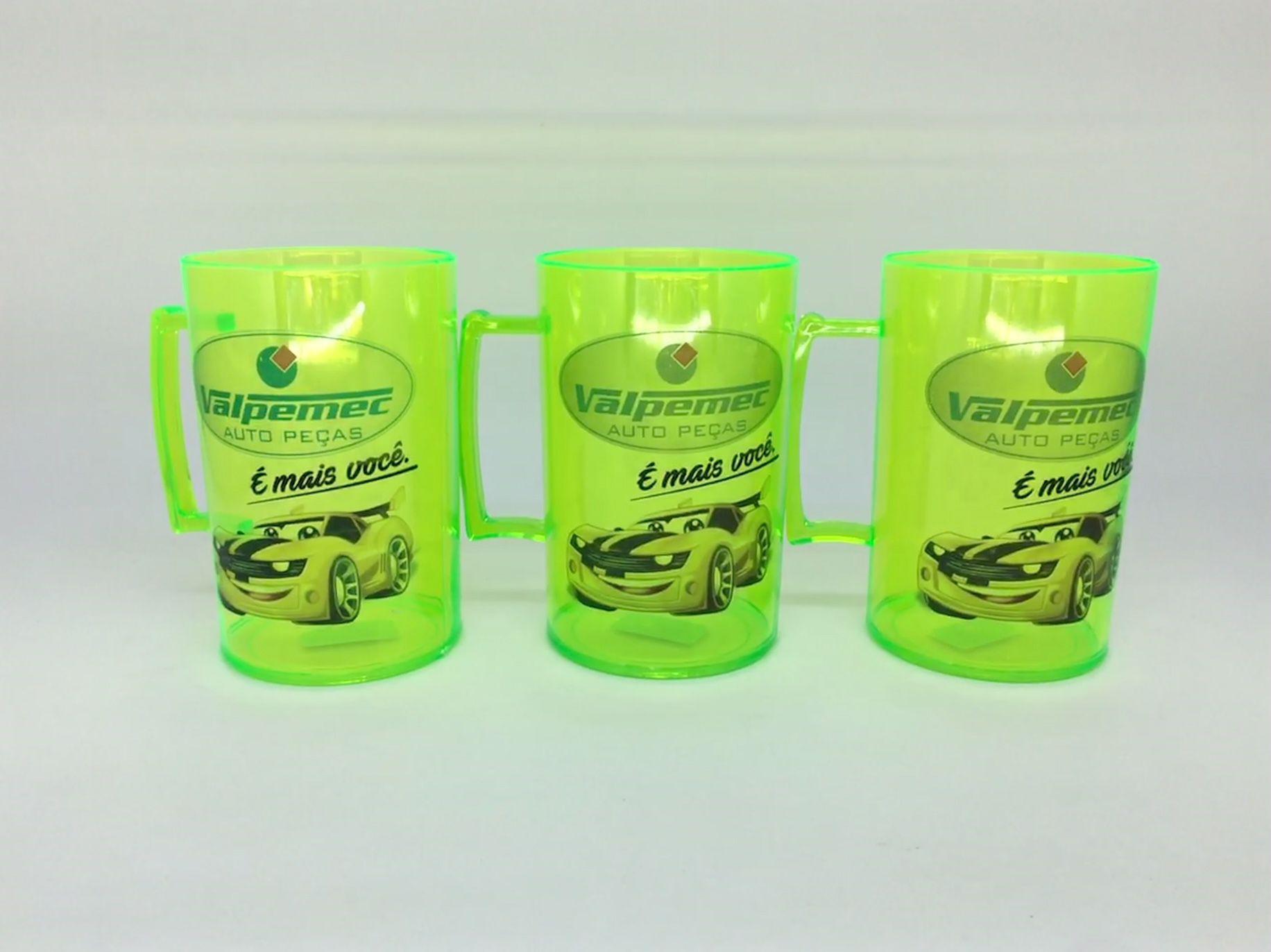 Canecas Personalizadas Acrilica Kit com 50   - Bolas Lassabia - Bolas e Brindes Personalizados