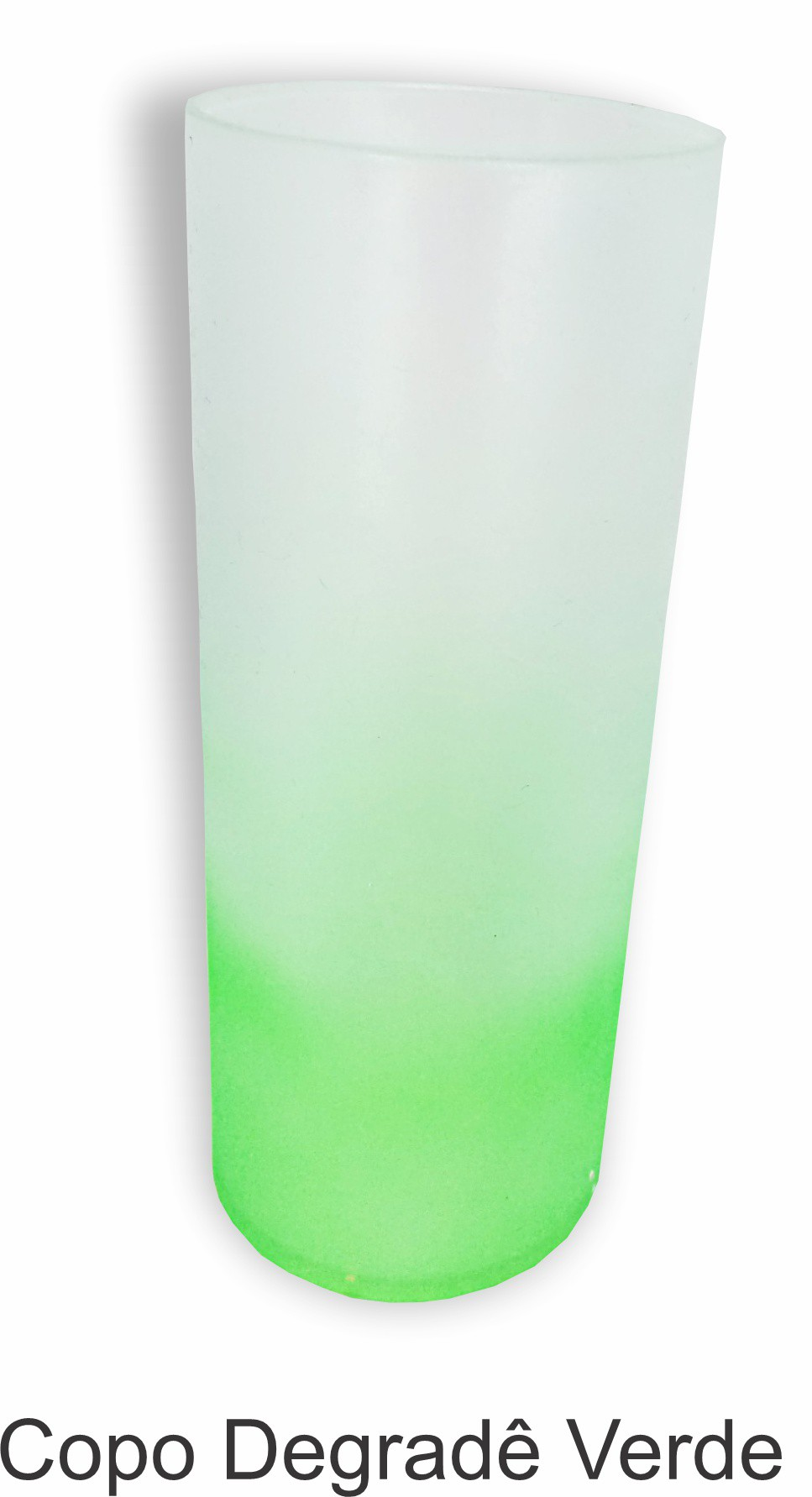 Copo Acrílico Degrade 300 ml. - kit com 06 unidades