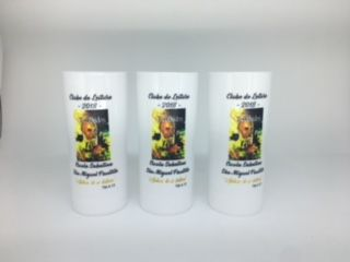 COPO LONG DRINK ACRILICO PERSONALIZADO - KIT COM 100  - Bolas Lassabia - Bolas e Brindes Personalizados