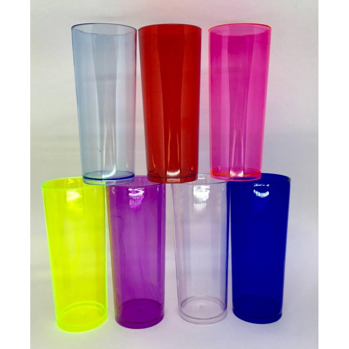 Copo Long Drink  - Para Personalizar - Kit com 100   - Bolas Lassabia - Bolas de Futebol e Volei