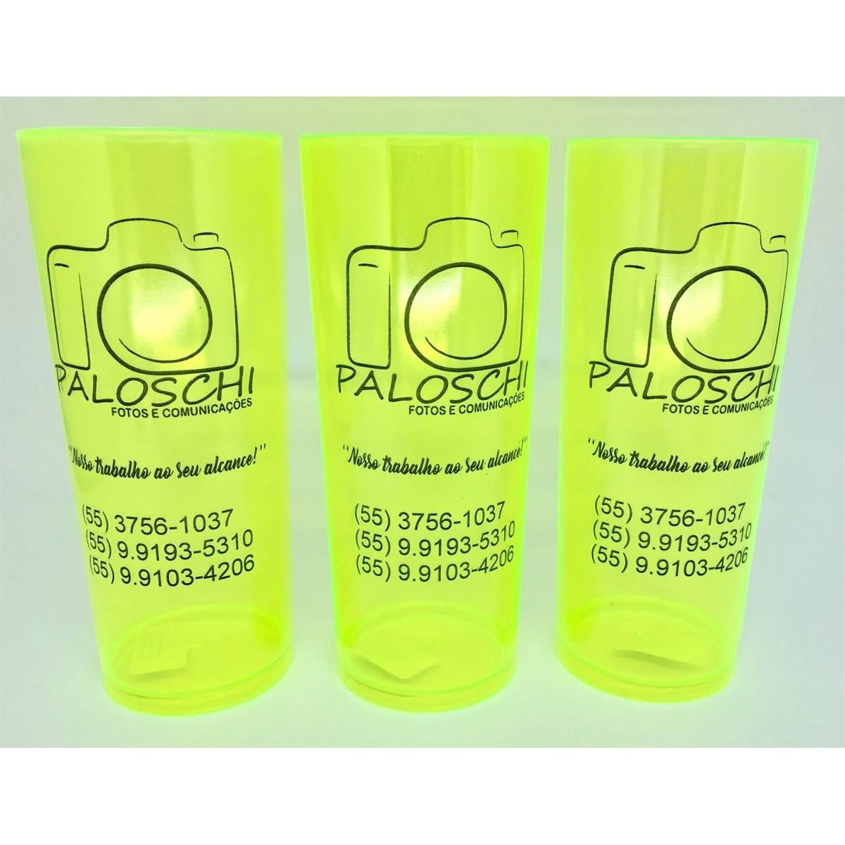 Copo Long Drink Personalizado - Kit 30 Unidades  - Bolas Lassabia - Bolas e Brindes Personalizados