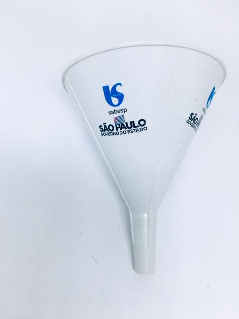 Funil Plastico Personalizado - Kit com 100