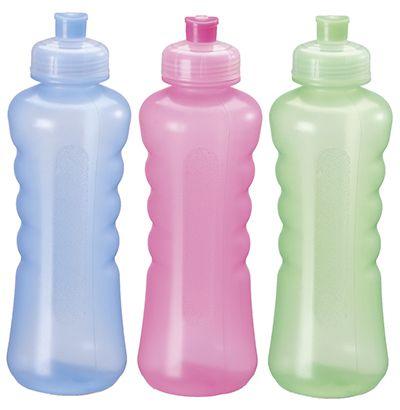 Garrafa/ Squeeze  de plastico pet floripa colors 580 ml  - Super Tri Shop - Bolas - Utilidades - Presentes
