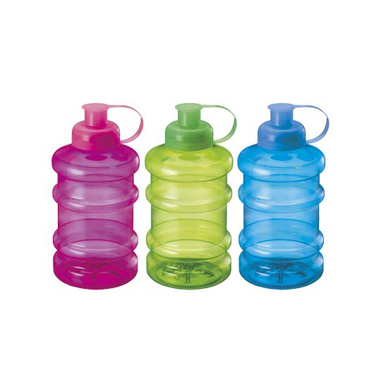 GARRAFA / SQUEEZE DE PLASTICO PET GELOV COLORS 1000ML  - Super Tri Shop - Bolas - Utilidades - Presentes