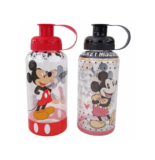 Garrafa/ Squeeze de plastico pet Mickey com tubo de  Gelo colors 600 ml  - Super Tri Shop - Bolas - Utilidades - Presentes