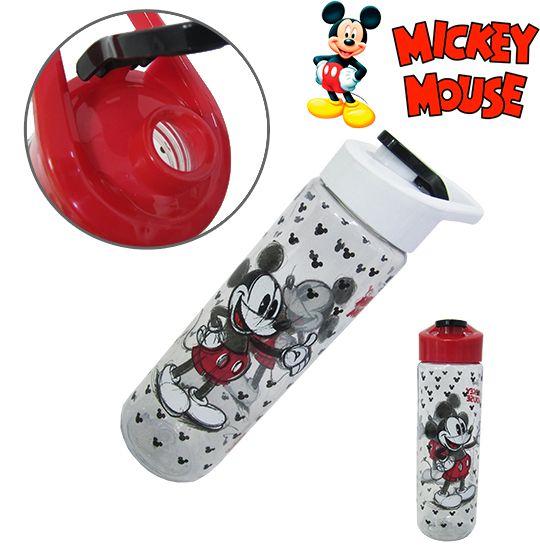Garrafa / squeeze de plastico pet  Minnie  silk com tampa flip top colors 700 ml  - Super Tri Shop - Bolas - Utilidades - Presentes