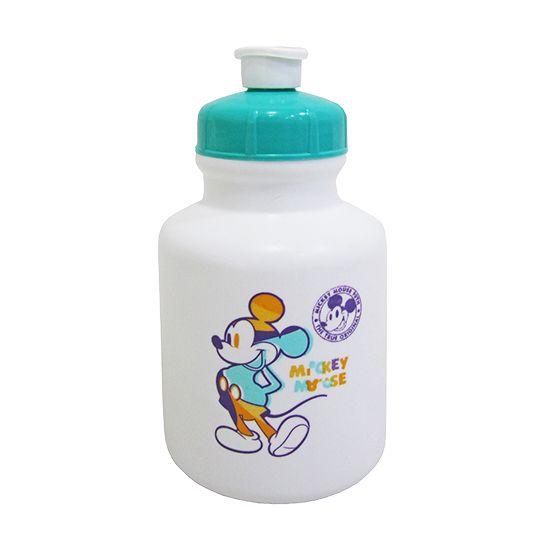 Garrafa / Squeeze de plastico PP mickey 90 anos 300 ml  - Super Tri Shop - Bolas - Utilidades - Presentes